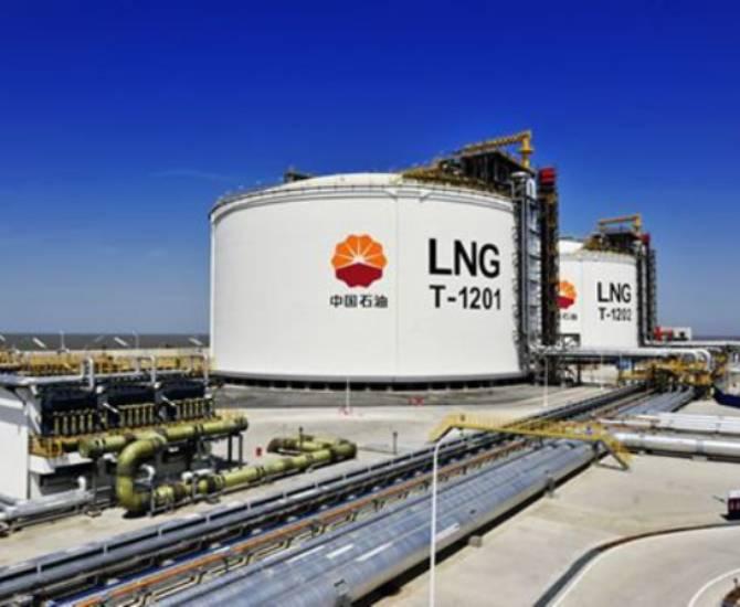 """图片新闻:LNG工厂原料气交易向市场提供""""定心丸"""""""